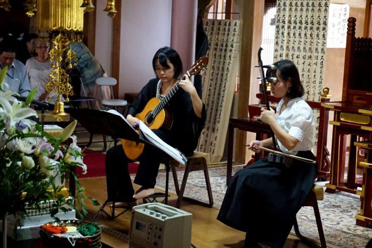 二胡とクラシックギターのデュオコンサート | 安養寺様ご依頼 画像1
