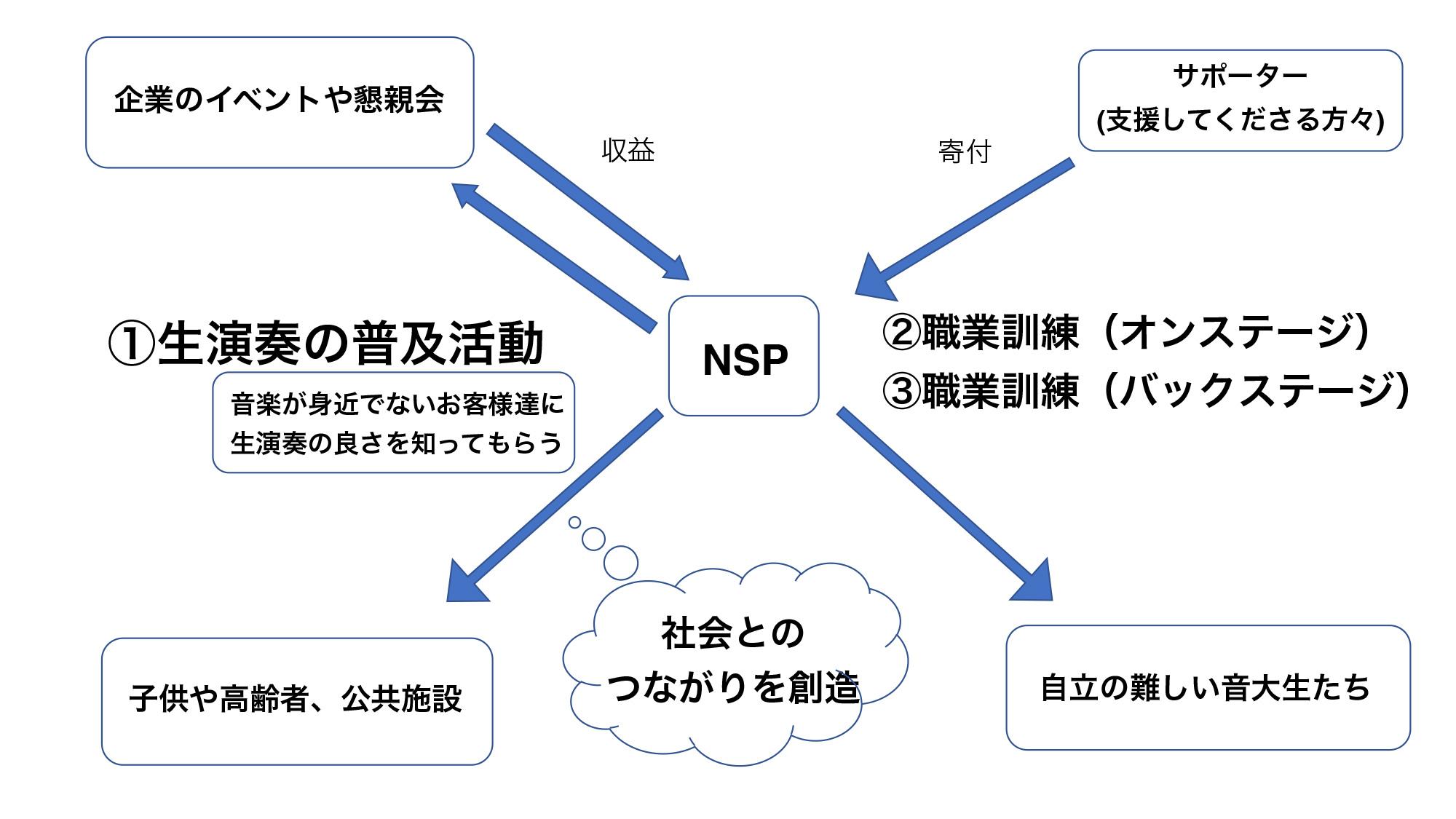 NSPの取り組み説明図